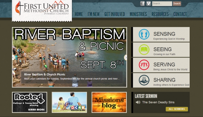Cheap Church Website Design